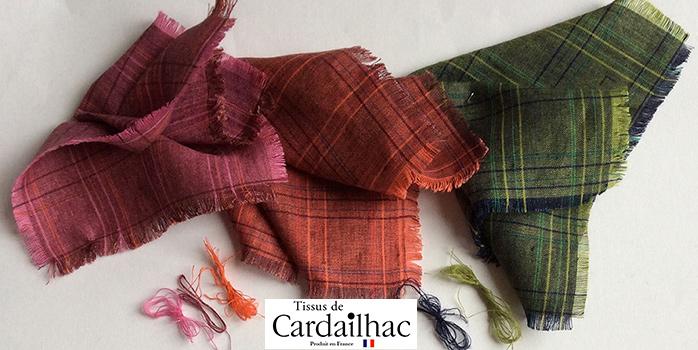 Vente de tissu ecossais au metre