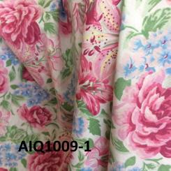 Coton fleuri et léger