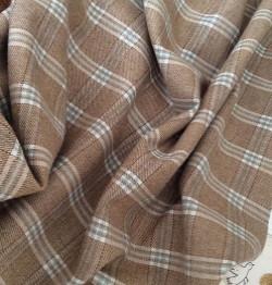 tissu de laine beige