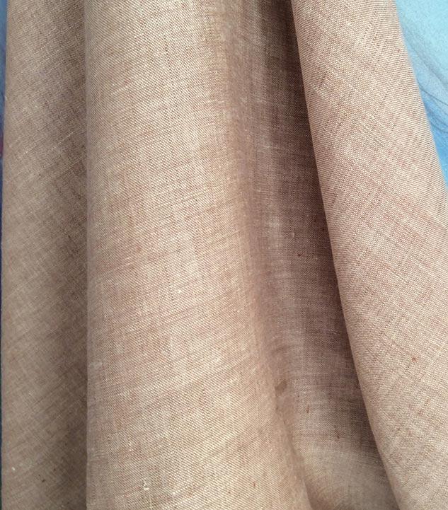 tissu chiné beige rosé