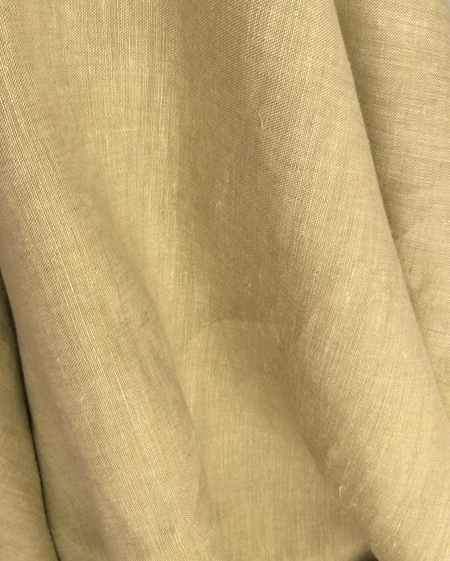 tissu chiné vert tilleul
