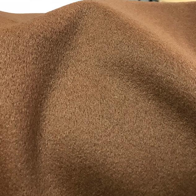 tissu cachemire camel marron