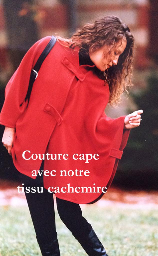 Création couture cape