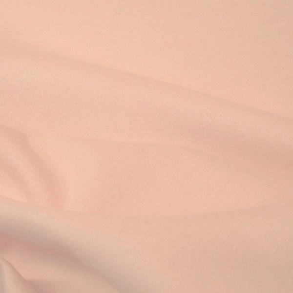 tissu drap de laine rose