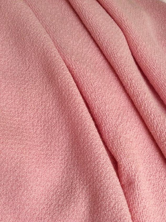 tissu rose dragée de qualité