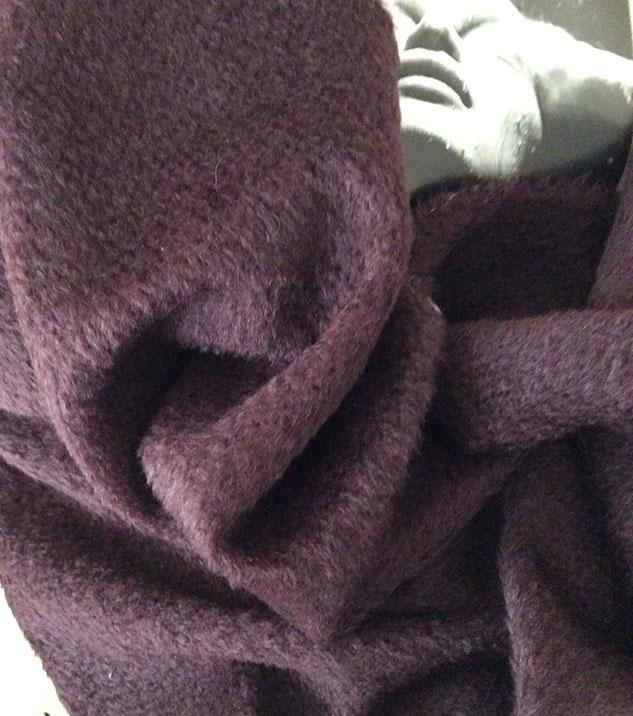 tissu mohair manteau