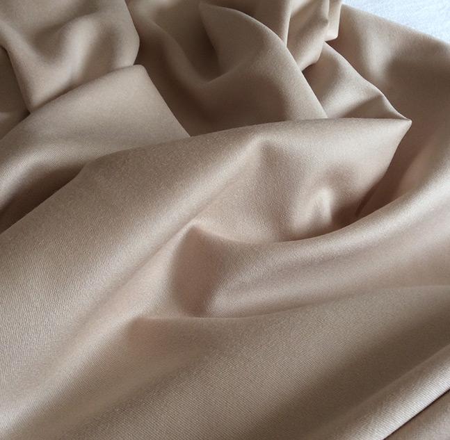 tissu laine beige