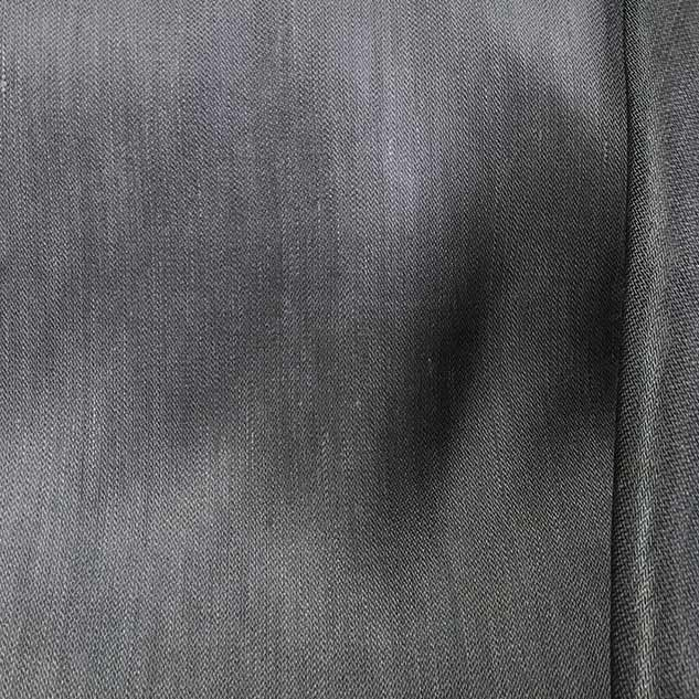 Tissu lin tissu gris Cardailhac