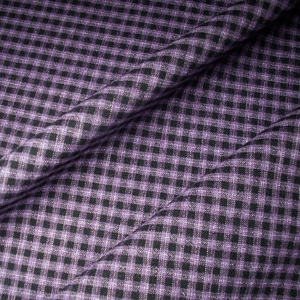 Tissu polyester laine écossais extensible, pantalon, veste