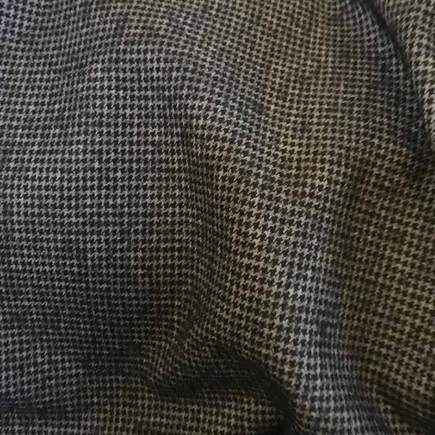 Motif pied de poule gris cardailhac