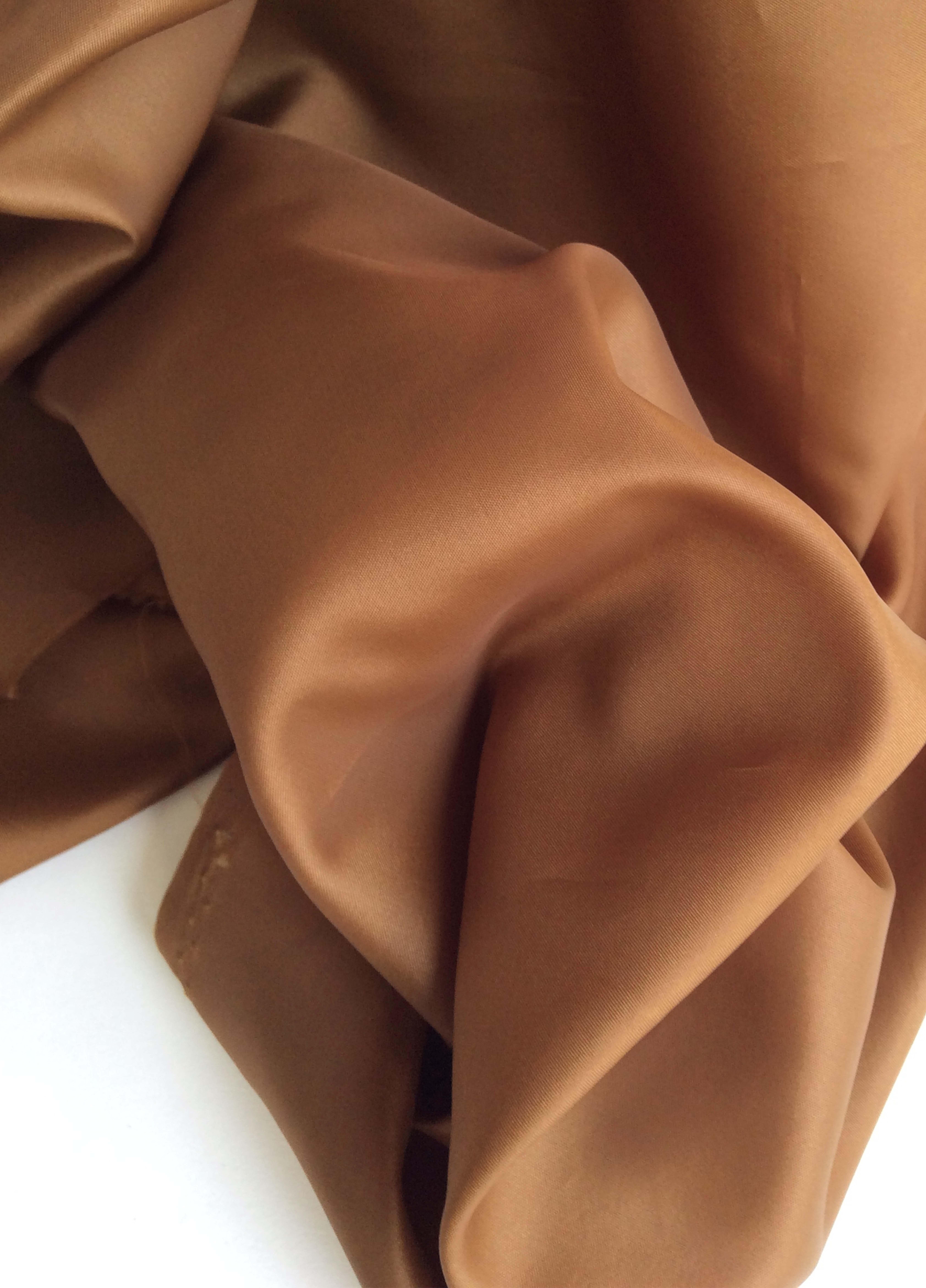 Doublure en polyester Marron