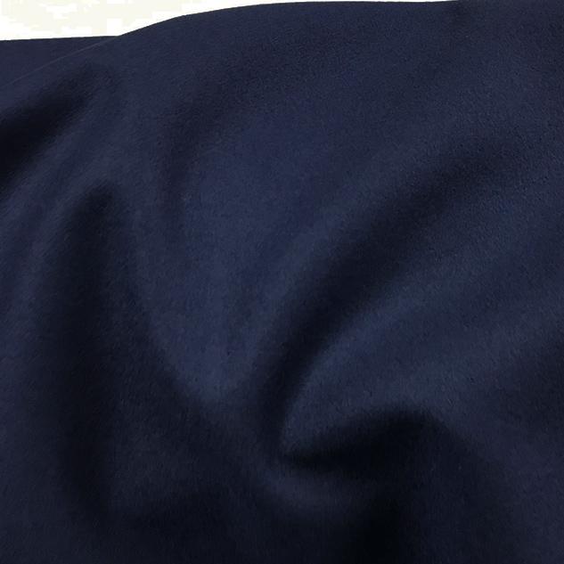 Drap de laine bleu pour manteau