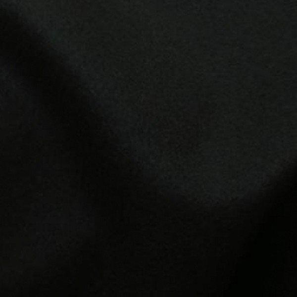 Drap de laine caban noir