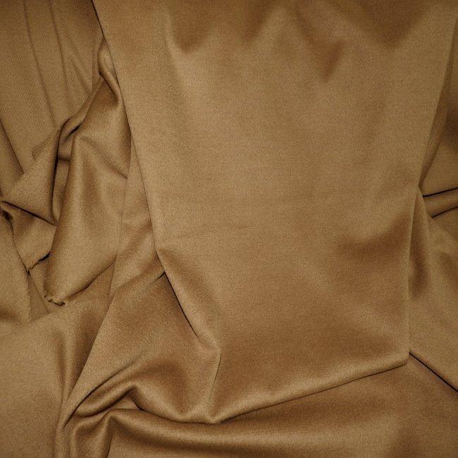 Drap de laine cachemire Camel