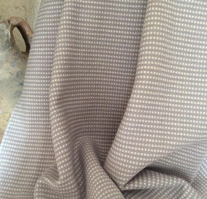 Drap de laine gris ameublement
