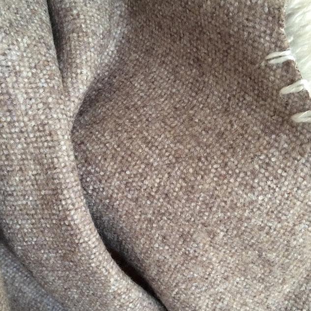 tissu pour manteau en laine