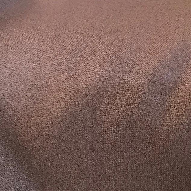 Tissu drap de laine peignée couleur