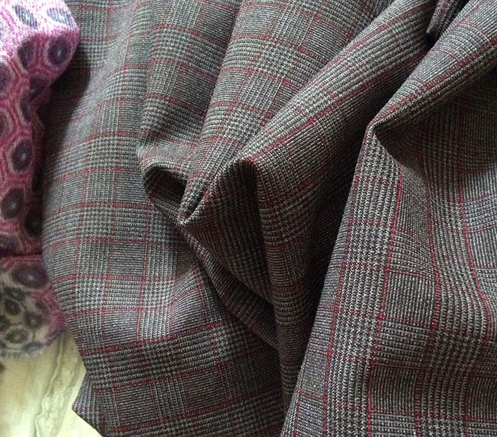 Tailleur tissu Prince de Galles