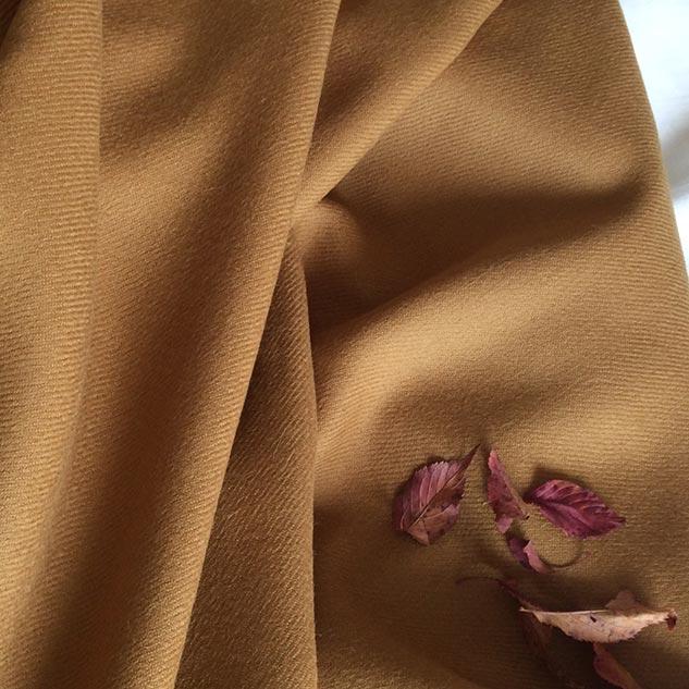 Shetland tissu jaune