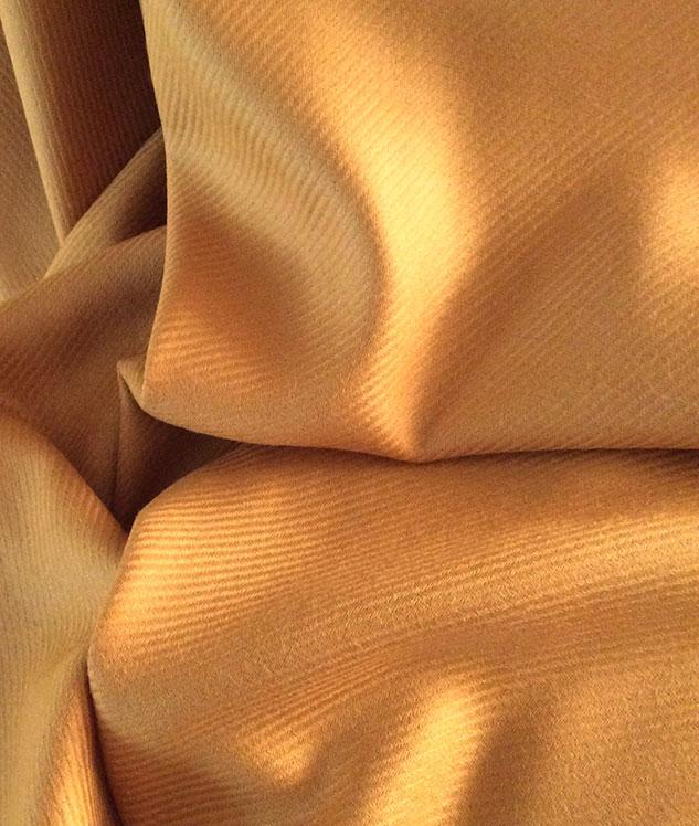 Shetland tissu doré