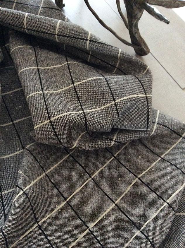 tissu décoration en laine