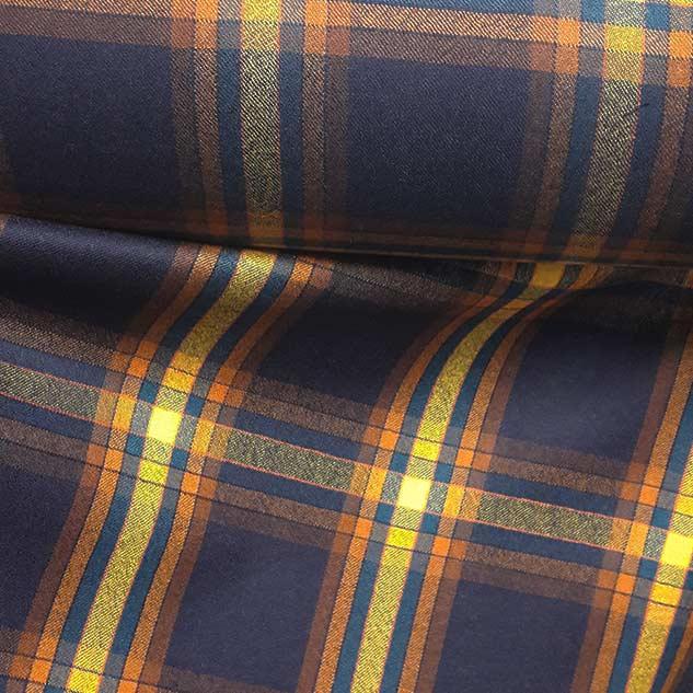 Tissu ecossais de laine marine ameublement