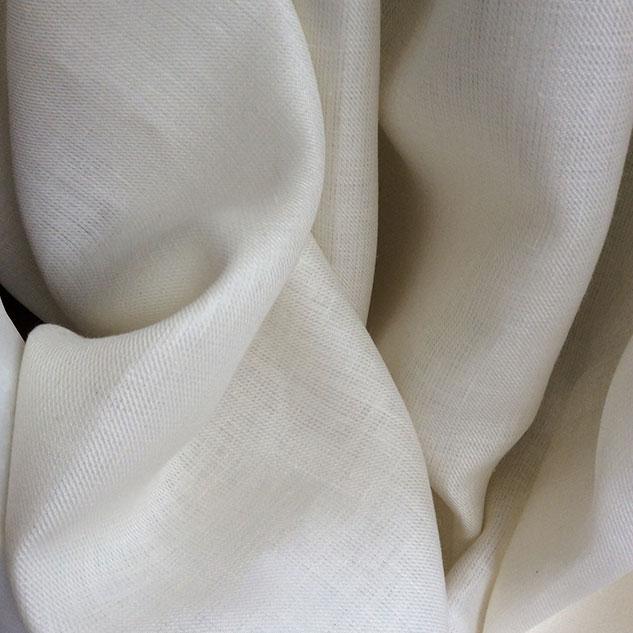 tissu ameublement au metre écru