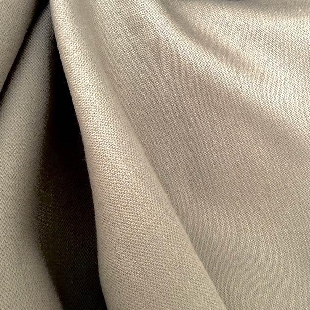 Tissu en lin beige gris pour rideaux