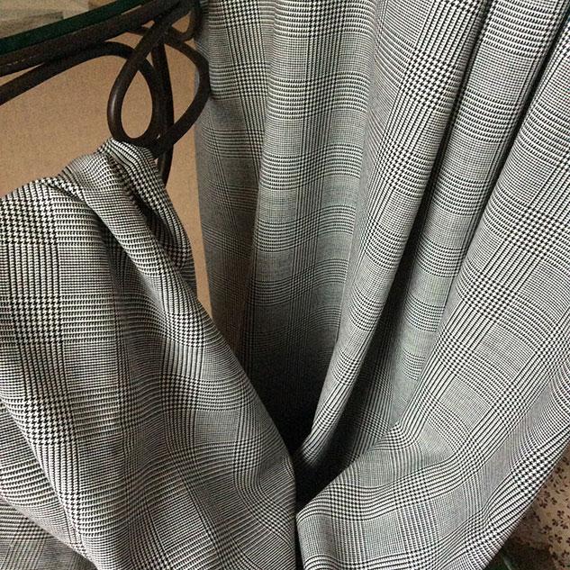 tissu ameublement laine prince de Galles