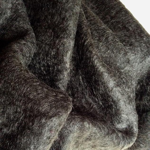 tissu mohair pour couture plaid
