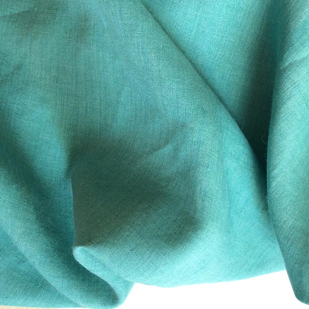 tissu vert emeraude pour rideau