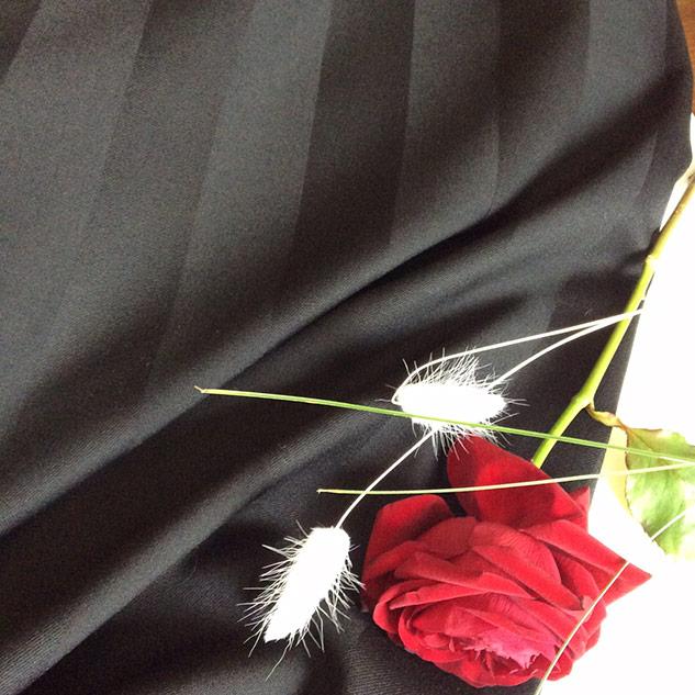 tissu pour rideaux noir
