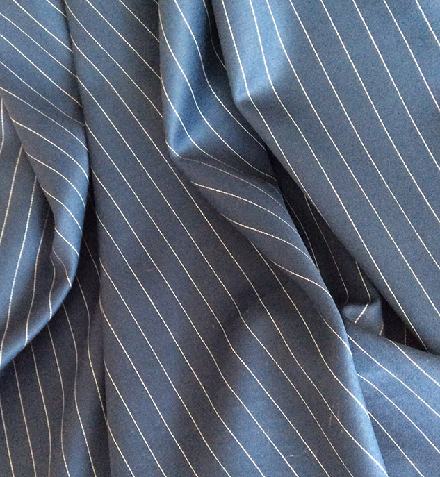 tissu bleu marine pour rideaux