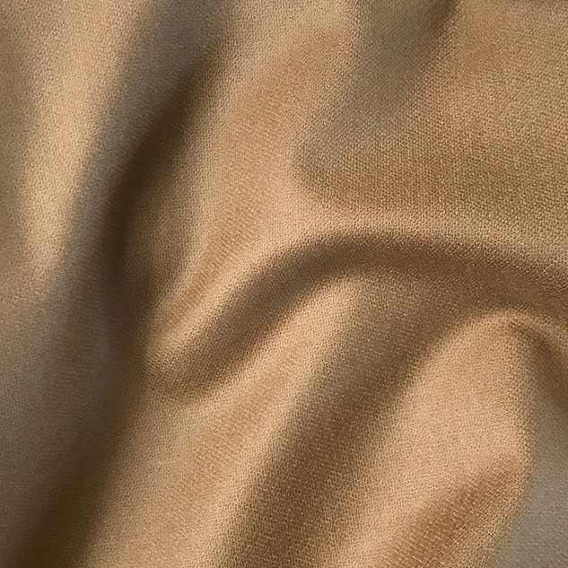 Tissu flanelle de laine peignée camel