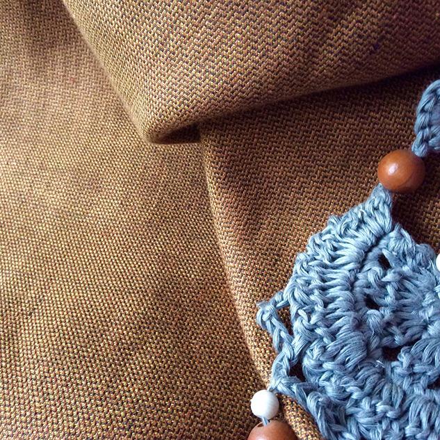 Tissu lin au metre esprit ethnique