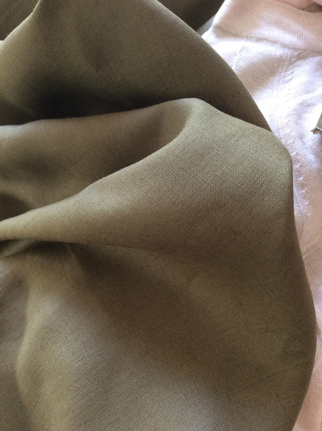 tissu kaki cardailhac