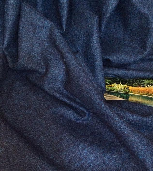 tissu chiné en flanelle tissus ameublement