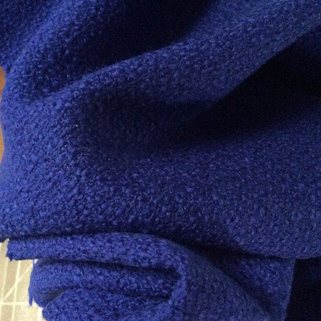 tissu bleu vif, bleu bleuet