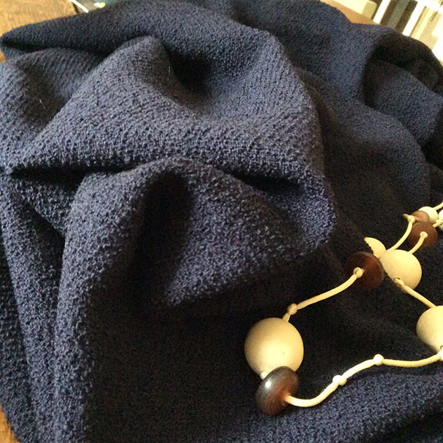 tissu veste laine bouille