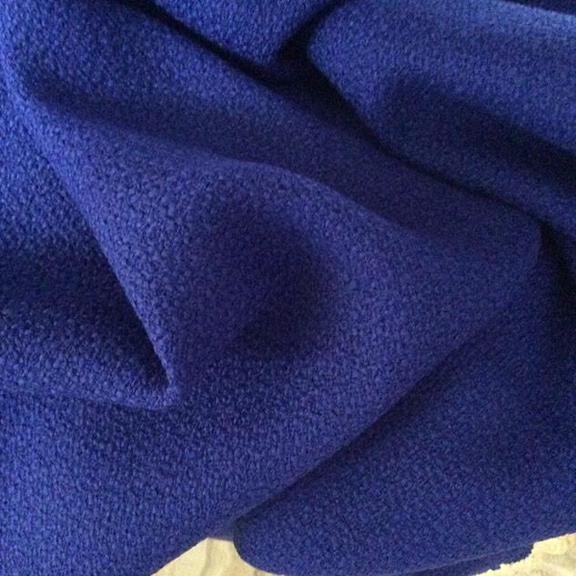 tissu bleu bleuet pour veste