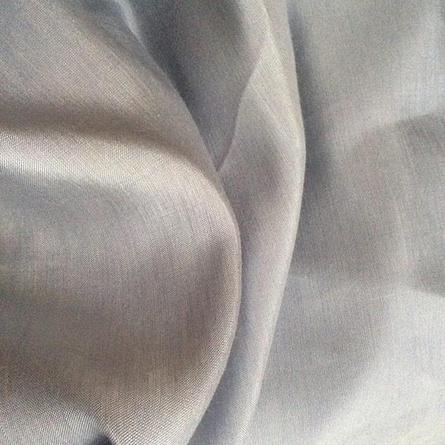 tissu bleu double face