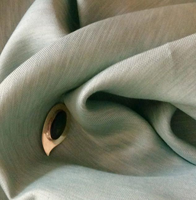 tissu vert réversible