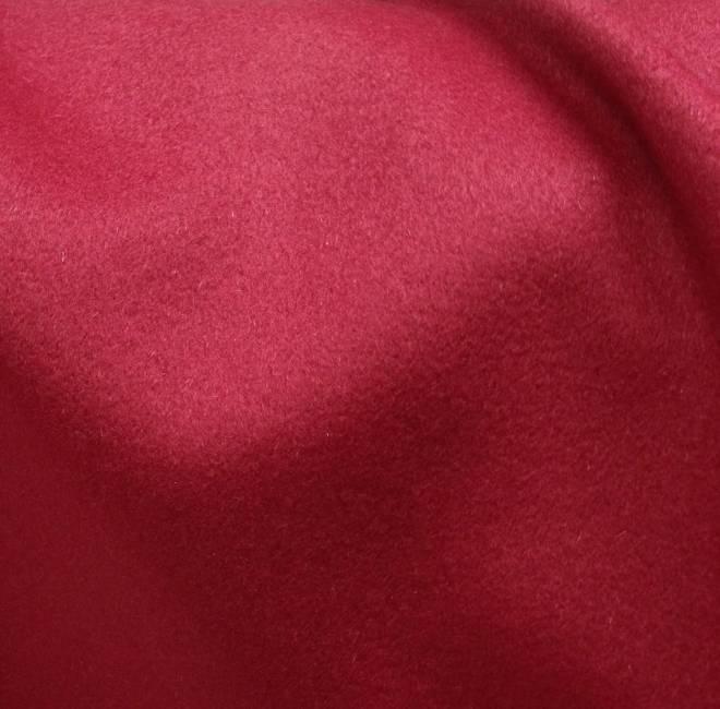 Tissu cachemire rouge