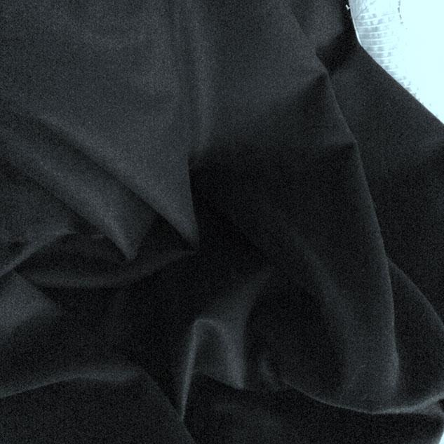 tissu noir cachemire Cardailhac
