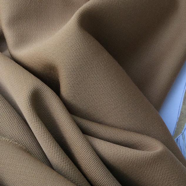 tissu couture camel en laine
