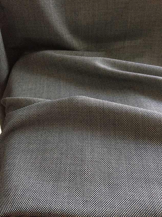 Tissu caviar tissus au metre noir et blanc