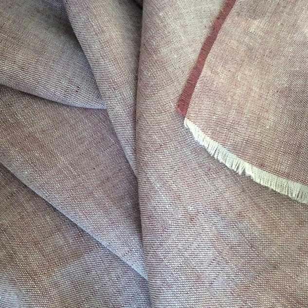tissu chambray lie de vie