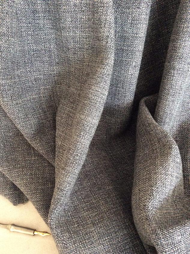 Tissu lin chiné pour siège