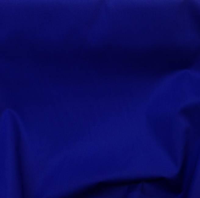Tissu coton bleu roi