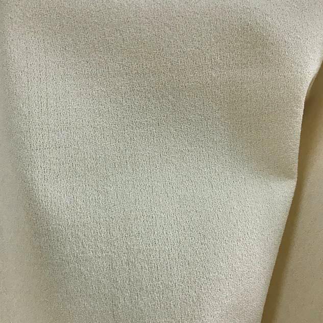 tissu crepe ecru